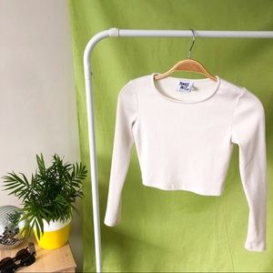 PP LONG SLEEVE CROP